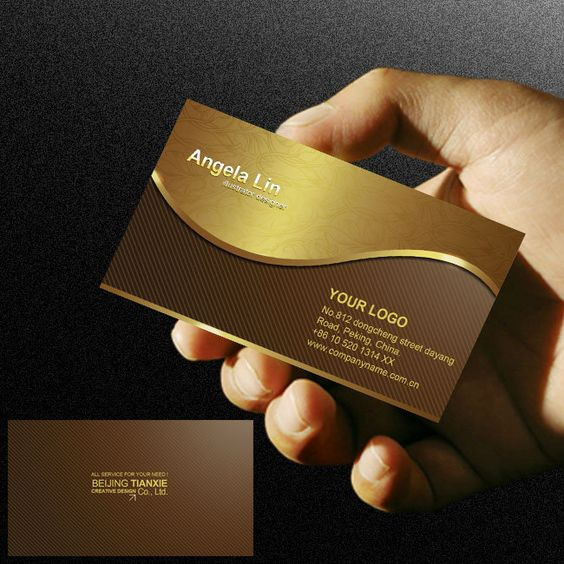 Noble Luxury High End Business Card Design To Enjoy The Psd