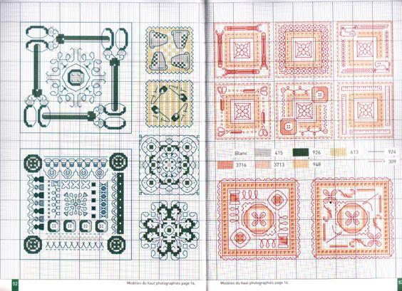 Gallery.ru / Фото #2 - Biscornus et pique-aiguilles (Point de croix et Cie)…