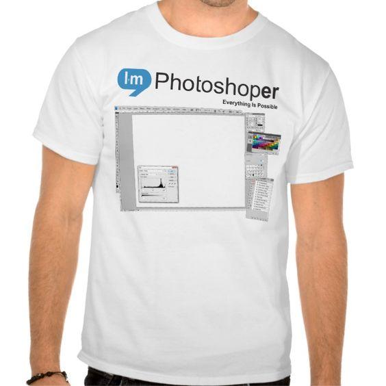 Photoshoper T Shirt, Hoodie Sweatshirt