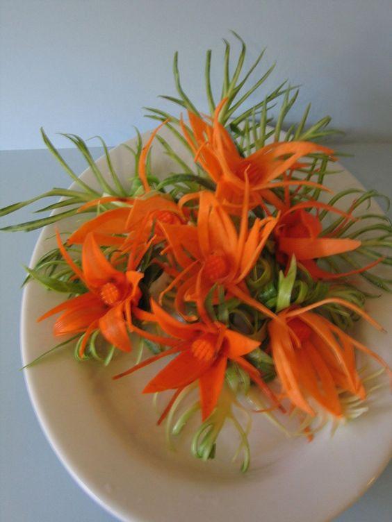 Veggie flowers,to pretty to eat