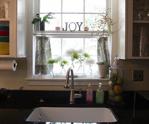 Sink In 2020 Kitchen Window Curtains Kitchen Window Treatments Kitchen Window Shelves