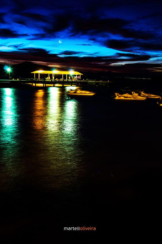 Noite iluminada