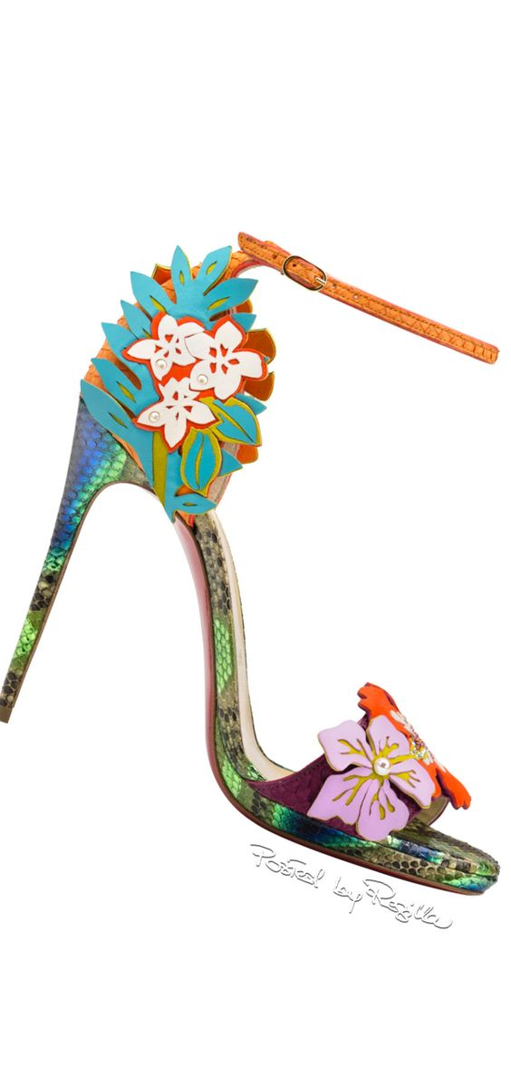 The colors are perfect, and when you look at the shoe you feel like you are in a tropical rainforest!