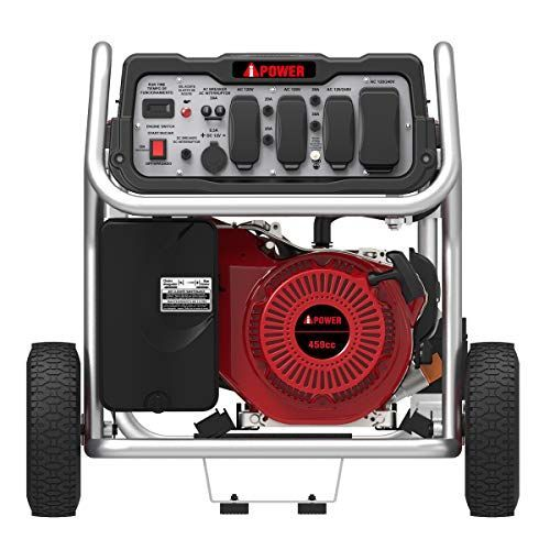 Electricstart Gasolinepowered Generator Powerequipment Generator With Electric Start And It Is Easy To Use T In 2020 Portable Generator Power Generator Generation