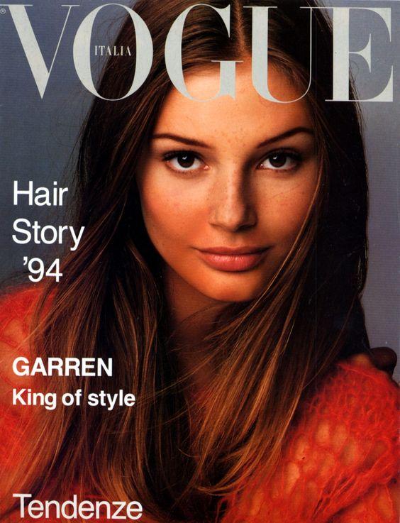 Bridget Hall for Vogue Italia