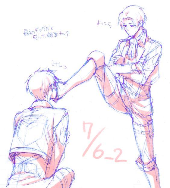 Poor Eren just wants Levi's love
