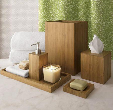 marvellous bamboo bathroom accessories | Bathroom decorating ideas: Bamboo Accessories | Bathrooms ...