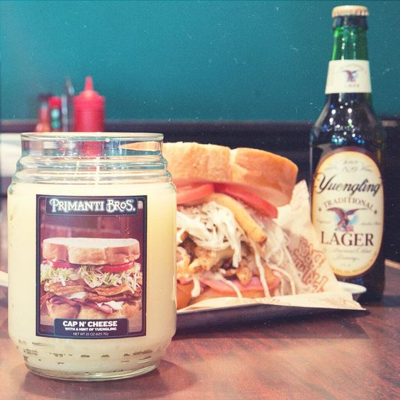 Love smelling #primantibros? We're selling Cap N' Cheese candles. http://bit.ly/1g0tC94  You're welcome! pic.twitter.com/m6lFcldwcG Yes, this is apparently an April Fools joke, but I think we all know we'd buy this if it were available!