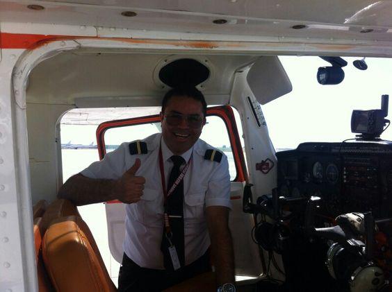 Mi primer vuelo solo en C150 aerobatic
