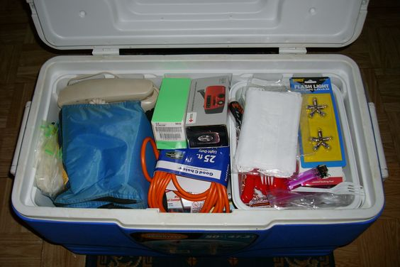 What Is Needed For Your Hurricane Emergency Kit (Checklist) - Be Prepared For The 2012 Hurricane Season.   Today's bad storm has me thinking about how we are now in hurricane season. There is no time like the present to get prepared!