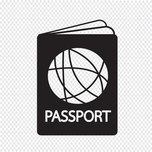 Passport Icon Symbol Sign Free Vector Illustration Symbols Icon