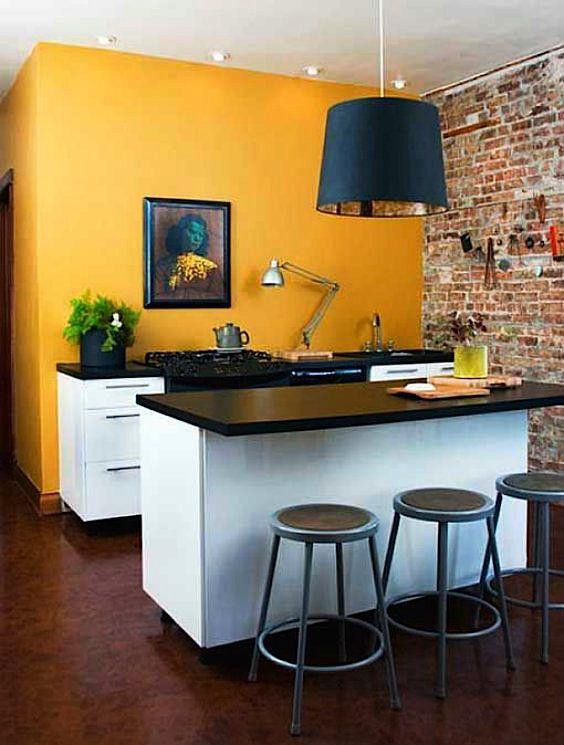 El Rincon Vintage De Karmela Hoy Toca Hablar Sobre El Calido Color Mostaza Y Su Salto Decoracion De Cocinas Sencillas Cocinas De Casa Decoracion De La Cocina