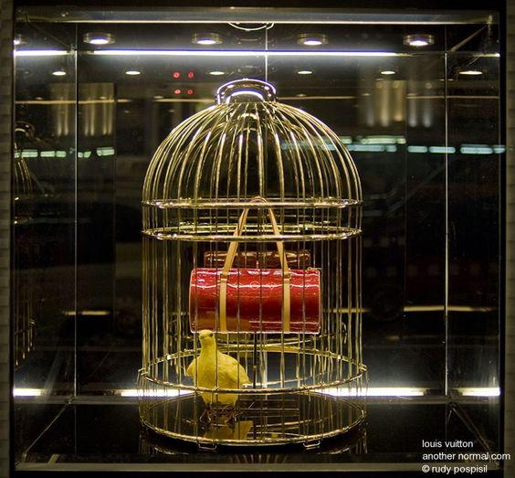 Louis Vuitton-New York window display