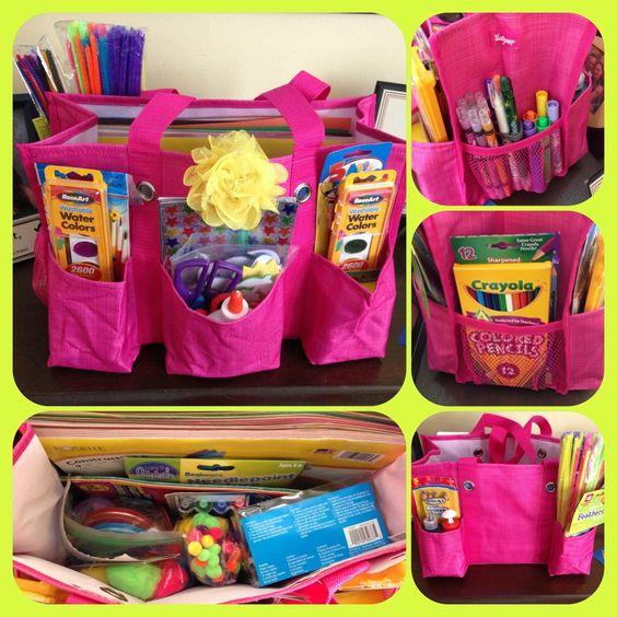 Organizing utility tote for your my arts crafts now a for Arts and crafts tote bags