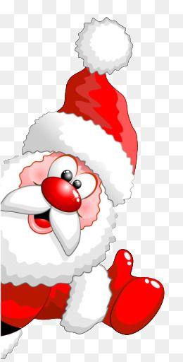 Santa Clipart Christmas Santa Claus Red Cartoon Lovely Santa Claus Fig Clipart Christmas Paintings Diy Christmas Hats Christmas Card Crafts