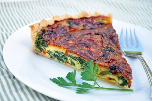 Swiss chard tart | Food — other | Pinterest | Tarts