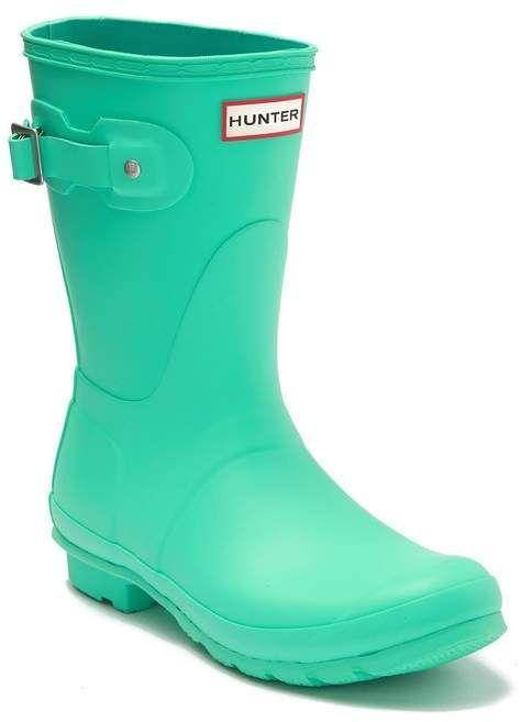 Hunter Original Short Waterproof Rain Boot Nordstrom Rack