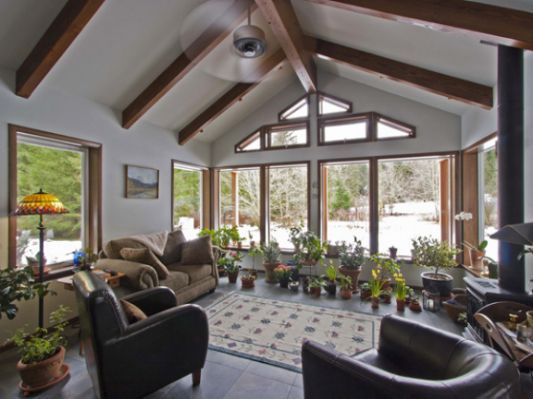 Sunroom Conversion Converting Garage To Living Space Garage