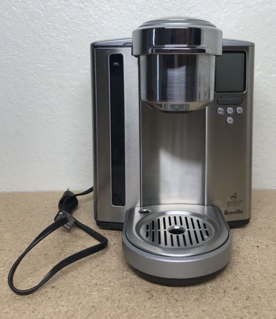 Breville Keurig K Cup Single Cup Coffee Brewer Bkc700xl Stainless
