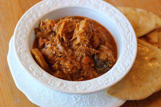 Easy crockpot curry