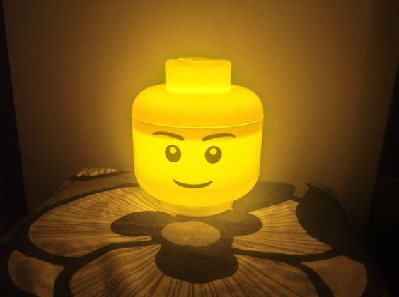 lego lamp head yellow ebay listing