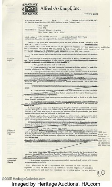 Manuscript - Letter \ Publishing Agreement for his Controversial - good faith agreement