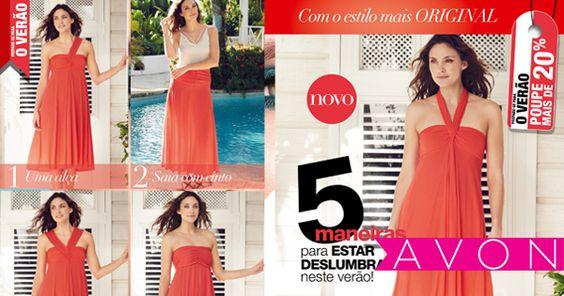 Um indispensável para as suas férias! Este vestido transforma-se em 5 toilettes diferentes, compre o seu e revolucione o guarda roupa.
