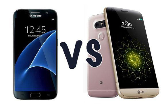 Samsung Galaxy S7 vs LG G5 : Lequel vous impressionne le plus ?