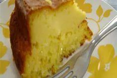 Imagem receita popular: Bolo de milho-verde cremoso