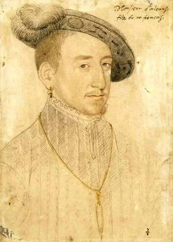Henri II, roi de France, jeune homme, par Clouet