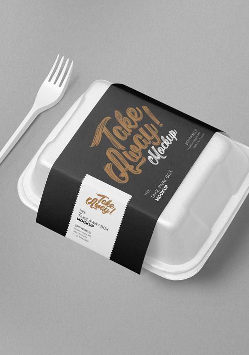 Download Free Disposable Food Packaging Mockup Zippypixels Food Packaging Food Box Packaging Food Packaging Design