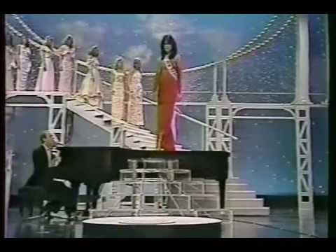 Looking for inspiration for an outfit for your 80s Hen Party? Check out the Evening Gowns at Miss Universe Competition in 1981.