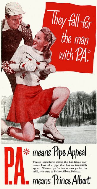 pipe appeal? Really, smell like tobacco and the girls will fall for you?