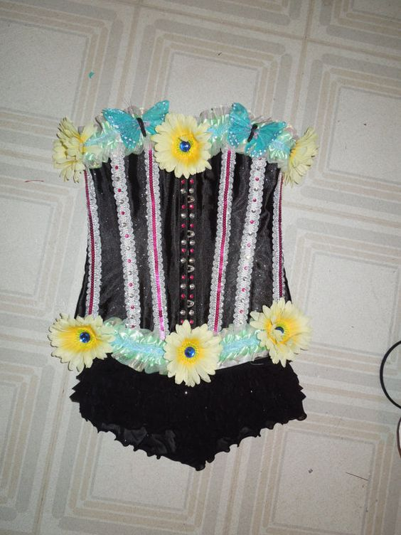 Sale Freaks of Nature Daisy Butterfly Corset  by GlamBamApparel, $80.00