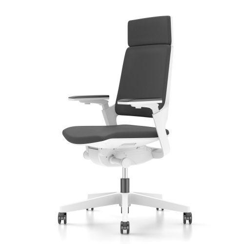 Gispen Zinn Bureaustoel.Interstuhl Movy 23m6 Gestoffeerd Hoge Rug In 2020 Ergonomisch