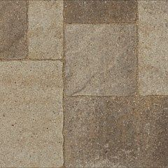 Belgard urbana stone pavers in danville beige backyard for Belgard urbana pavers