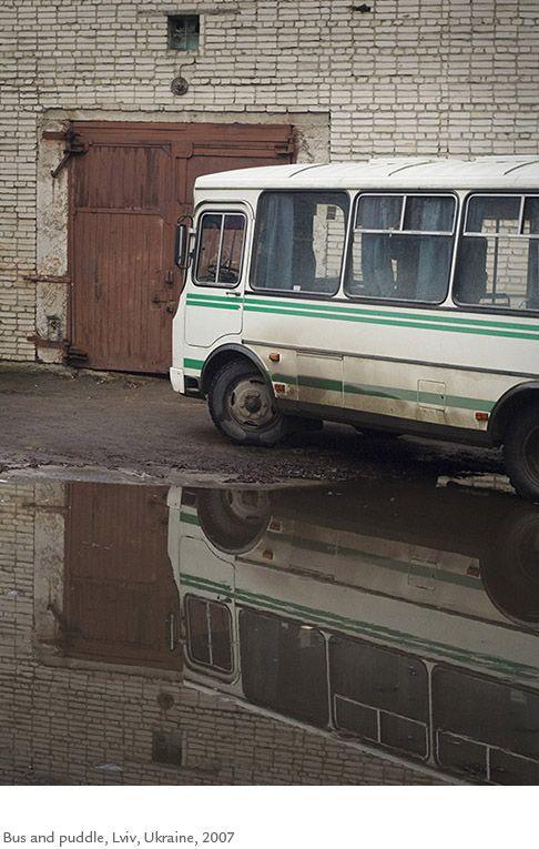 Kristoffer Albrecht, Bus and Puddle, Lviv, Ukraine, 2007