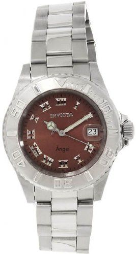 Invicta Angel Brown Dial Stainless Steel Ladies Watch 14362. Invicta. 14362. Angel. women's. dive.