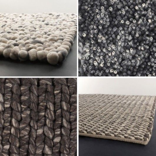 big knit rugs