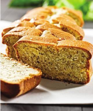 pão de limão e papoila