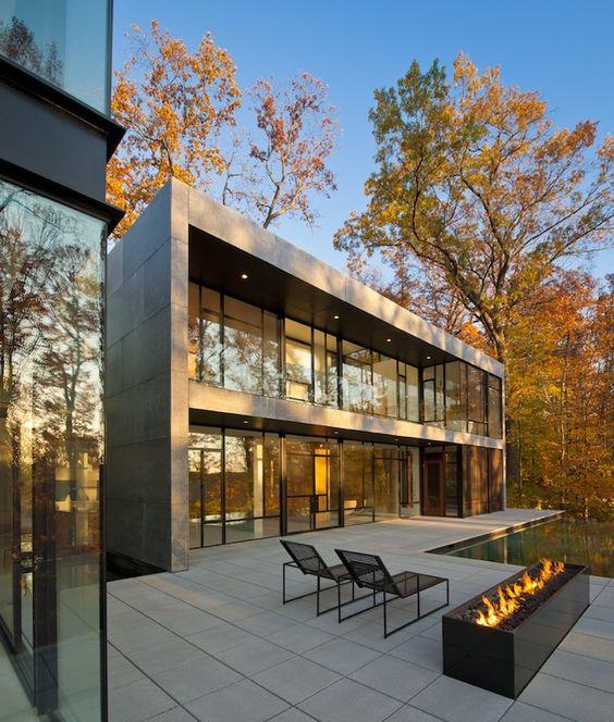 Wissioming2 house, Glen Echo, MD; designed by Robert M. Gurney