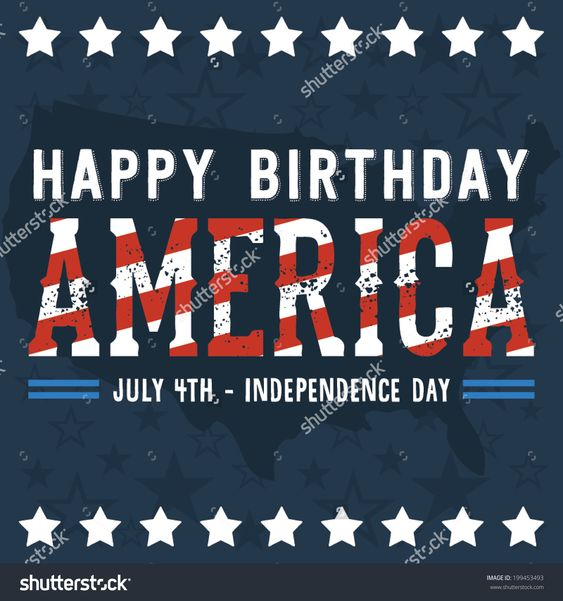 4th of July Birthday Clipart (72+)