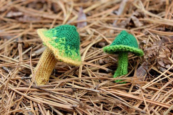 Bromeleighad: Knitting and Nature