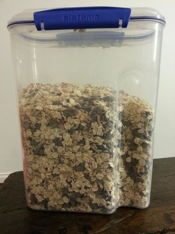 Make your own muesli. Save some money and customise your breakfast to your  families taste preferences.