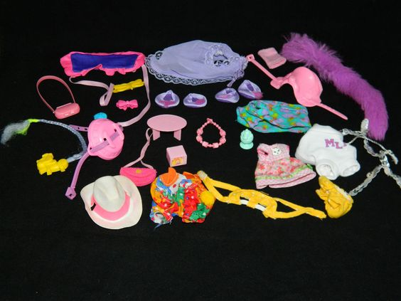 My Little Pony Vintage G1 Accessory/Pony Wear Lot [2e] #Hasbro