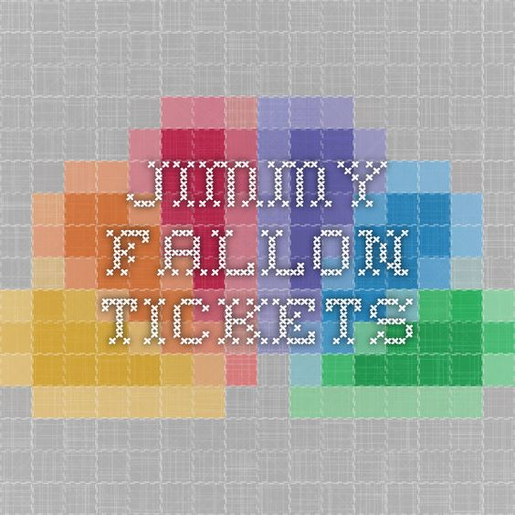 Jimmy Fallon tickets