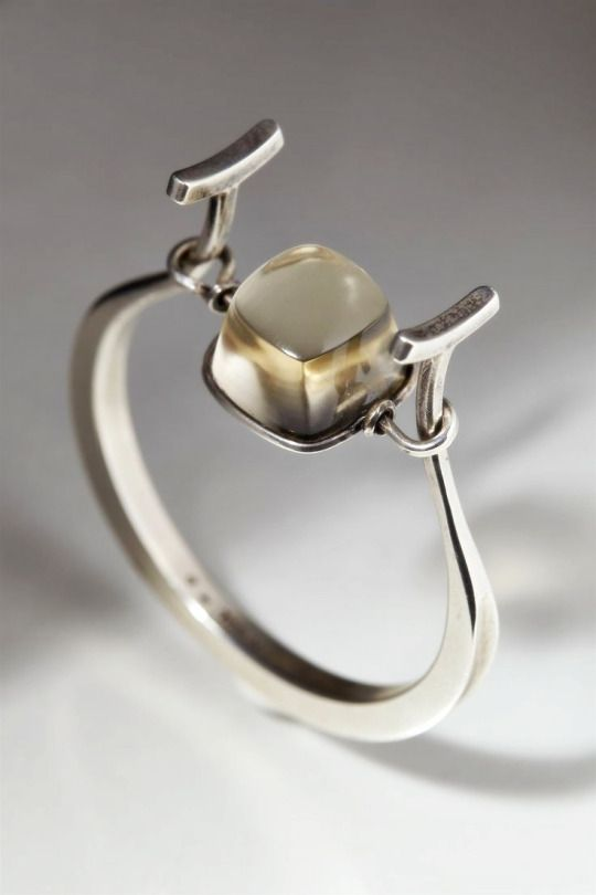 C'est la belle vie. Bracelet designed by Torun Bülow-Hübe, Sweden. 1950's