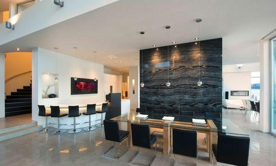 magnifique résidence de luxe au bord d'un lac au canada   bar
