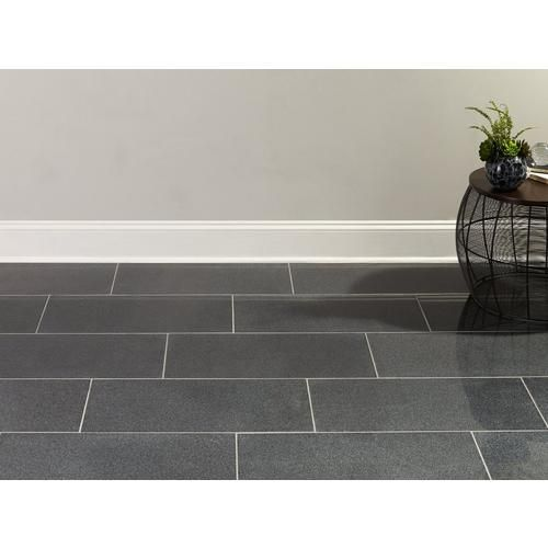 Impala Black Granite Tile Floor Decor In 2020 Black Granite Tile Granite Tile Gray Porcelain Tile