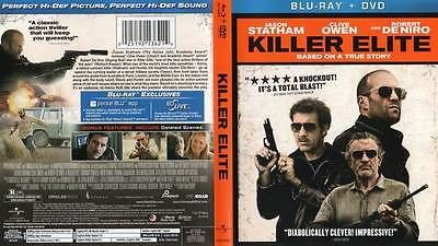 New Killer Elite (2011) Blu-ray + DVD Robert De Niro Jason Statham Clive Owen
